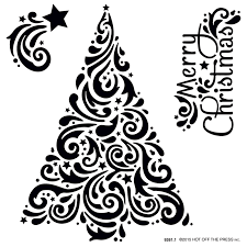 christmas card stencils swirly christmas tree card with inka gold paper wishes blog