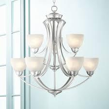 possini euro design milbury nine light wide chandelier home