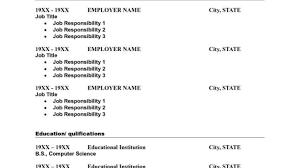 Resume Simple One Page Resume Sample Amazing One Page Resume - One page  resume sample 2