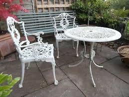antique cast iron garden furniture very
