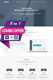 Business Portfolio Template Kinger Personal Business Portfolio Landing Wordpress Theme
