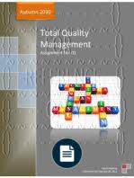assignment no course total quality management semester total quality management assignment no 1