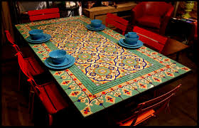 architecture elegant tile top patio dining table 17 furthur whole mosaic tables delightful outdoor to make