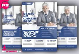 Free Corporate Flyer Psd Template Freedownloadpsd Com