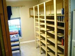 storage room ideas basement shelving shelves plans building pantry food shelf emergency preparedness especially long term