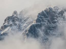 Mountains in Fog Wallpaper - iPhone ...