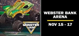 Bridgeport Webster Arena Seating Chart Monster Jam Webster Bank Arena