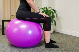 Previ Fitness Choosing The Correct Size Stability Ball