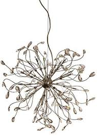 design by grönlund 9090 28 foggia crystal chandelier chrome g4