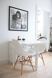 Ikea Dinning Room ikea dining room table and chairs rectangular brown varnished 1052 by uwakikaiketsu.us