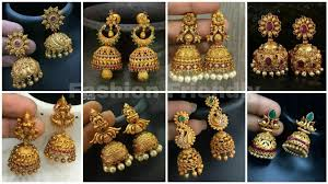 Latest Gold Jhumka Earrings Design With Price In India Gold Jhumka Designs 2019 Gold Jhumka Earrings Latest Gold Jhumka Designs 2019 Fashion Friendly