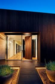 concealed lighting ideas. entrance lighting ideas entry contemporary with concrete block vertical timber cladding concealed n