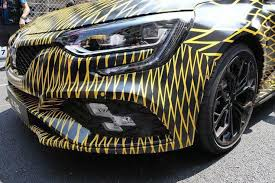 2018 renault megane sport.  sport thanks to one facebook page called megane rs online close up photos of the  new renault have surfaced these include an unmasked  in 2018 renault megane sport r