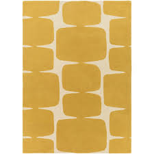 endorsed langley street rugs baltwood hand tufted mustard cream area rug reviews
