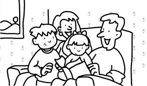 Coloring Pages Family Picture 29