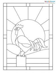 Stained Glass Pattern Fascinating Free Stained Glass Patterns