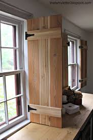DIY Interior Cedar Shutters - Featured from Pretty Handy Girl