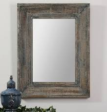 wood wall mirrors. The 46 Best Art Mirrors Clocks Images On Pinterest Home Ideas Intended For Weathered Wood Mirror Prepare Wall