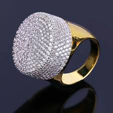 2019 hiphop full diamond rings for men brand design cz ring gold plated luxury hip hop jewelry wedding accessories from ky1219 33 42 dhgate
