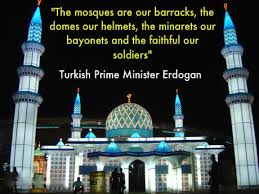 Image result for pics of erdogan and barracks within