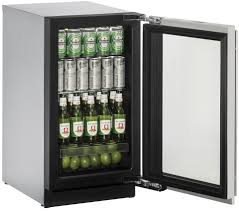 Glass Refrigerator U Line 3000 Series 3018rgls 00a 18 Refrigerator Glass Door