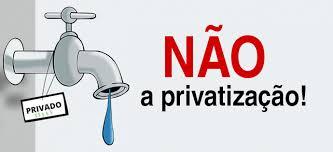 Resultado de imagem para Temer quer privatizar a água
