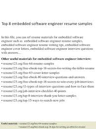 resume screening software top 8 embedded software engineer resume samples  in this file you can ref