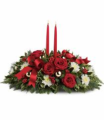 Candles Images Christmas CenterPiece Wallpaper And Background Christmas Centerpiece