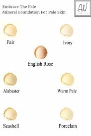 natural mineral makeup 7 shades for pale and fair skin it s vegan too a