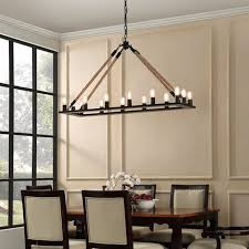 outstanding rectangular shade chandelier rectangular linen shade pendant black wooden chandelier with 16 light