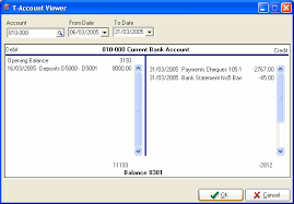 t account in accounting turbocash accounting software t account viewer