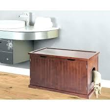 hidden cat box furniture. Diy Litter Box Furniture Cat Bench Merry Products Walnut Hidden