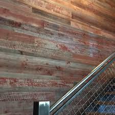 reclaimed lath wall. patina pine reclaimed cladding lath wall