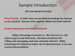 eng parts of an essay  essay 5 sample introduction
