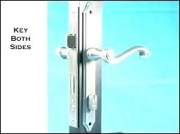 pella screen door storm deadbolts locks replacement glass deadbolt lock and do