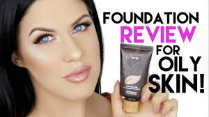 tarte amazonian clay foundation for oily skin review 12 hour wear test you