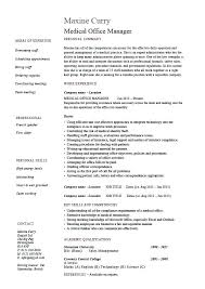 Office Manager Cv Example Office Manager Resume Template Sample Office Manager Resume Front