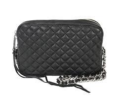 Rebecca Minkoff 'Flirty' Quilted Leather Crossbody Bag, Black &  Adamdwight.com