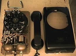 my phone page this is my fourth vintage phone a black western electric 554 wall phone which i bought on for around 10 this is another early model which has a