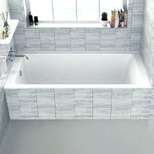 american standard princeton bathtub standard 5 ft right hand drain bathtub