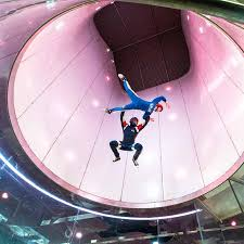 Image result for INdoor skydiving
