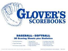 Glovers Scorebook Score Sheet Refills