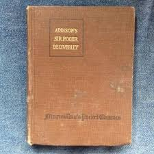 essays by addison steele abebooks sir roger de coverley essays from the steele addison and