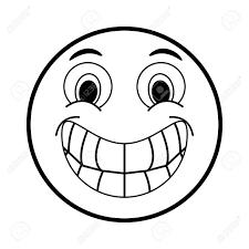 面白い漫画顔アイコン絵文字似顔絵やキャラクター テーマ分離デザイン ベクトル図
