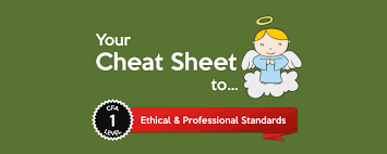 Your Cheat Sheet To Cfa Level I Ethical Professional