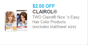 This offer will expire soon, buy it now. New Printable Coupons For Clairol Hair Color