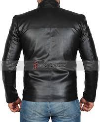 boys travel leather jacket