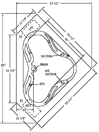 corner garden tub dimensions. click here for ambria plan dimensions corner garden tub e