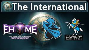 dota 2 live ehome vs newbee cavalry the international 2017