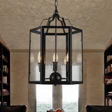 unique cage light fixture glass shade